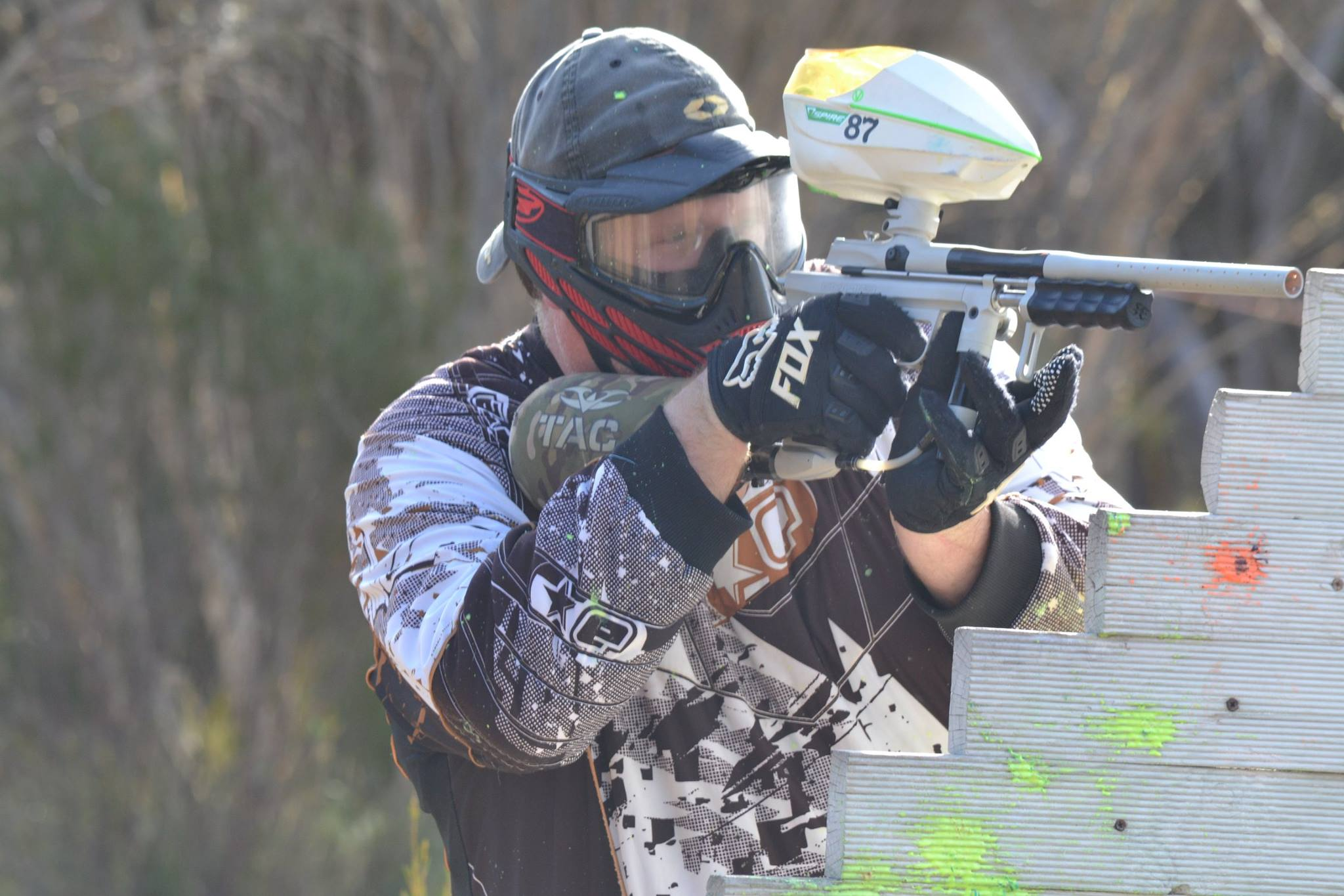 Blisterball group paintball Hartley