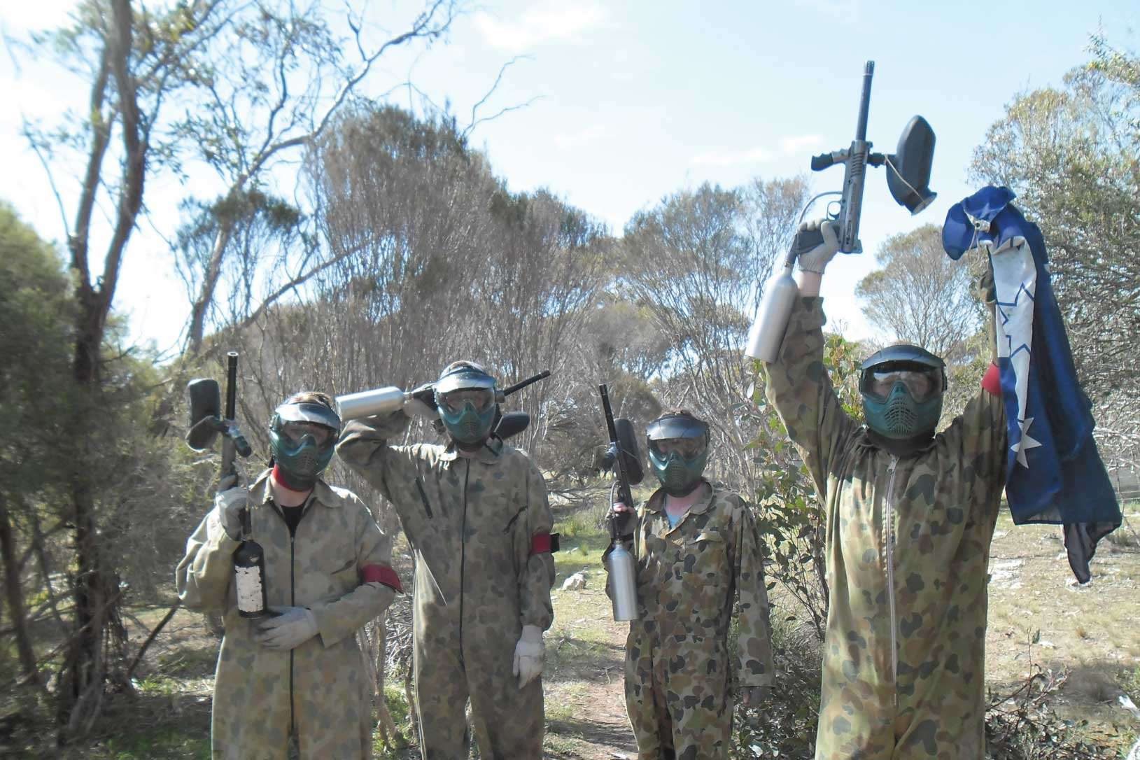 Patrol Field paintball Adelaide