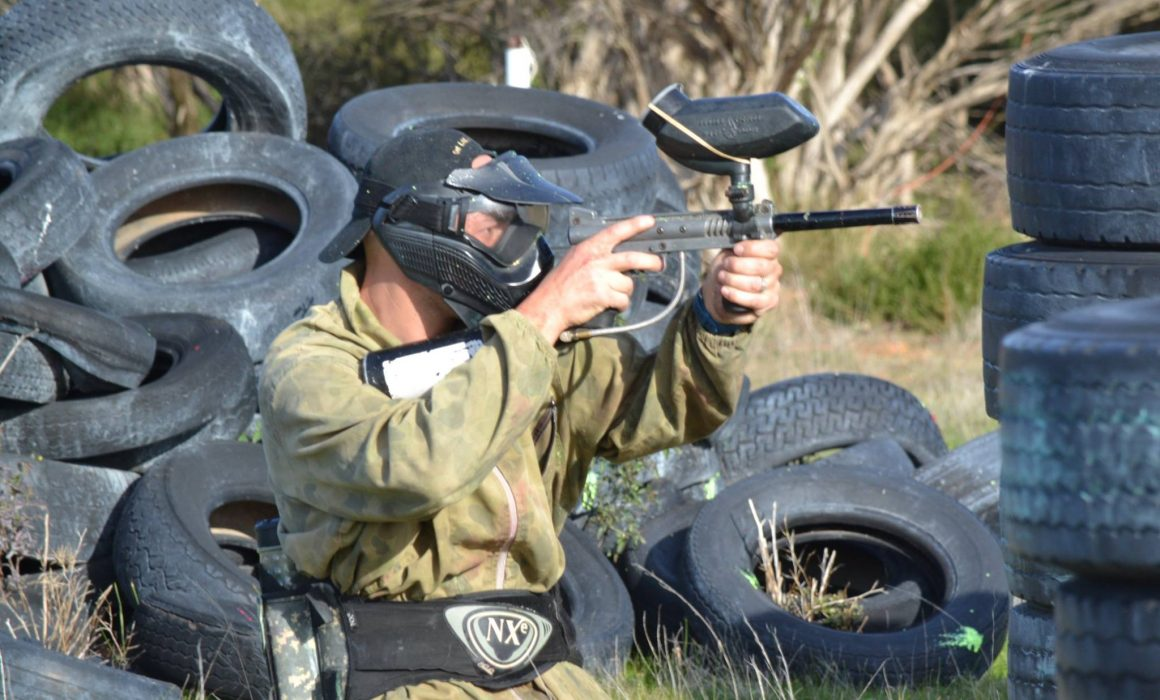 Speedball paintball Hartley, Adelaide