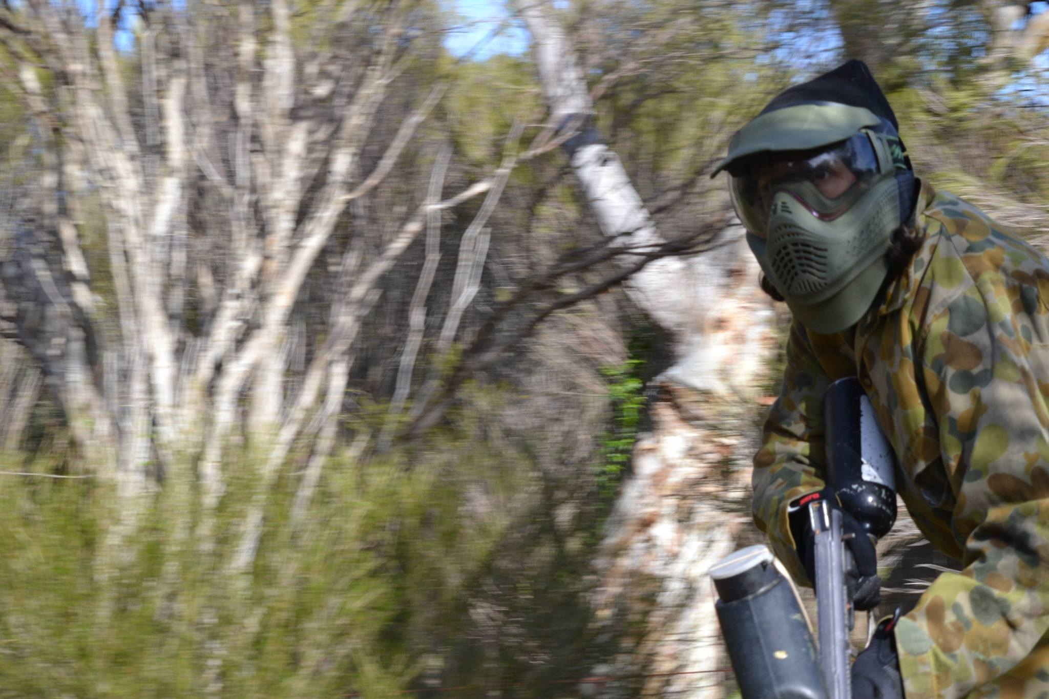Patrol Field paintball Hartley, Adelaide