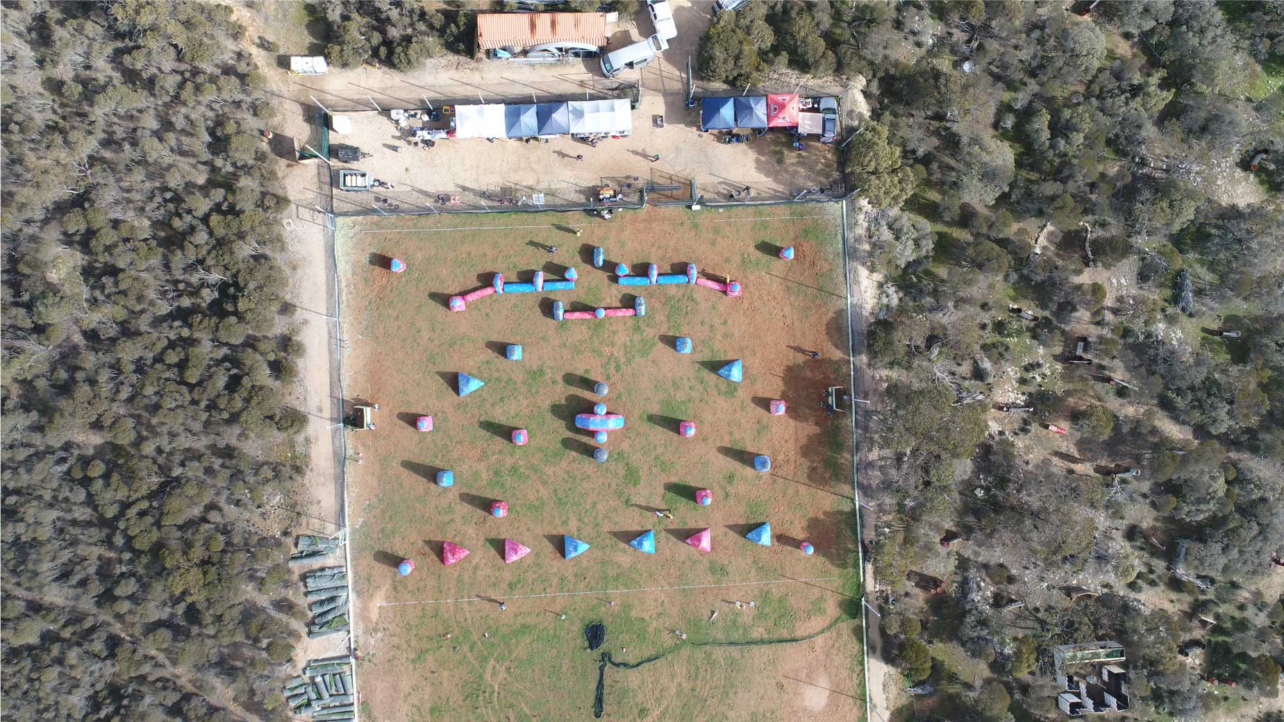 Group tournament paintball Hartley overview